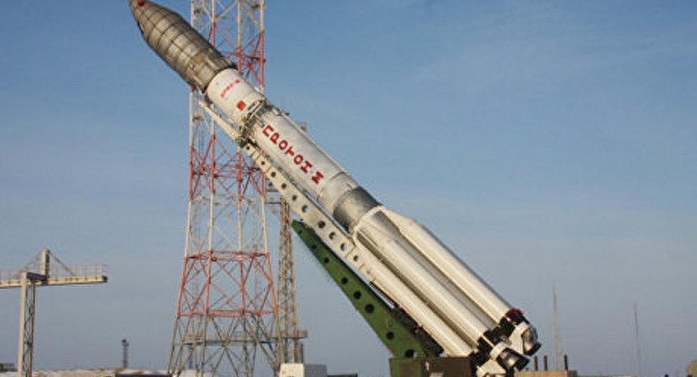 La fusée Proton-M a mis un satellite américain en orbite