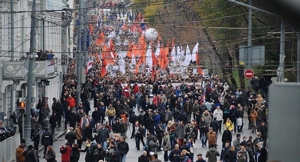 Moscou : la Marche de l'opposition se termine