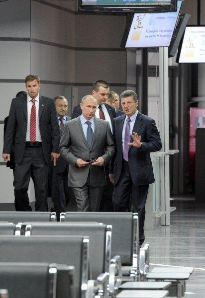 Poutine et le chef du CIO ont inauguré la gare d'Adler