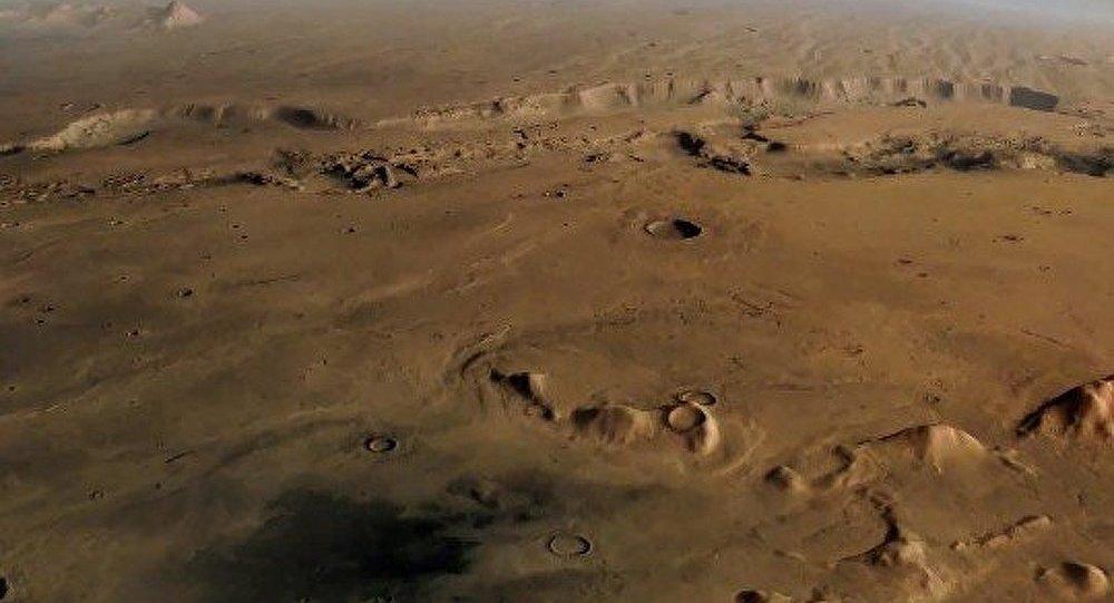 Les astronomes présentent une carte 3D de Mars (vidéo)