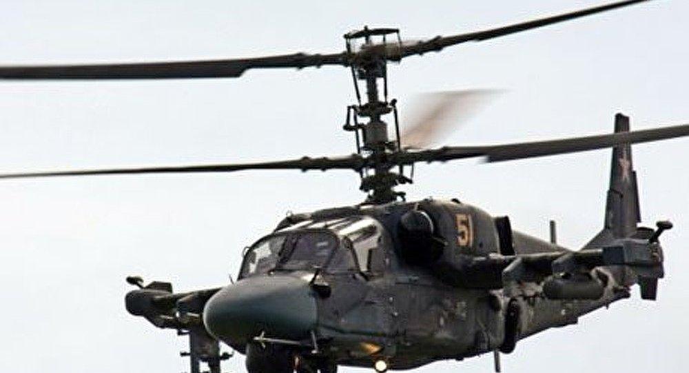 Crash d'un hélicoptère Ka-52 à Moscou