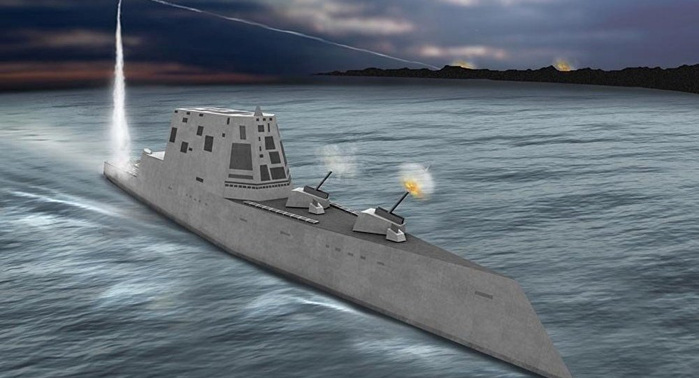 USA : mise en service d'un nouveau destroyer
