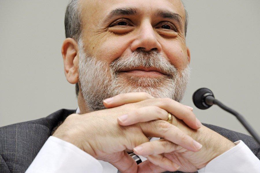 Ben Bernanke, le président de la Réserve fédérale des États-Unis, occupe la septième place du classement des personnes les plus influentes du monde pour le magazine Forbes.