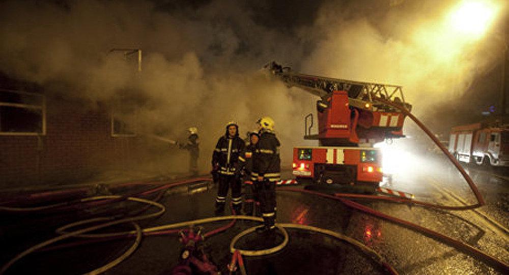 Un incendie de collector s'est déclaré au centre de Moscou