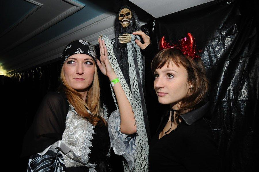 Célébration d'Halloween en Russie