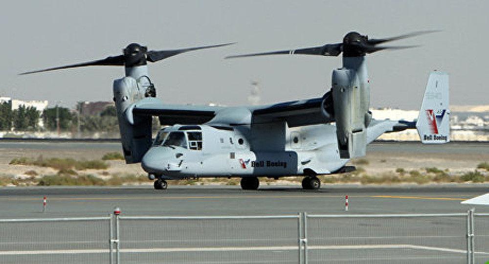 Les Etats-Unis fourniront à Israël les Boeing/Belle V-22 Osprey