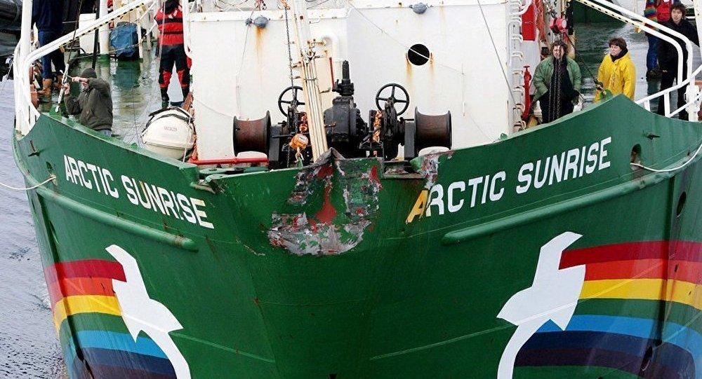 Affaire Arctic Sunrise : les accusés transférés à Saint-Pétersbourg