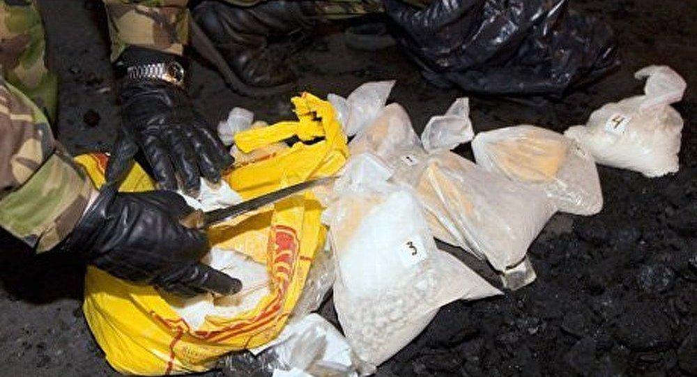 La police russe a saisi 100 kilogrammes d'héroïne à Moscou