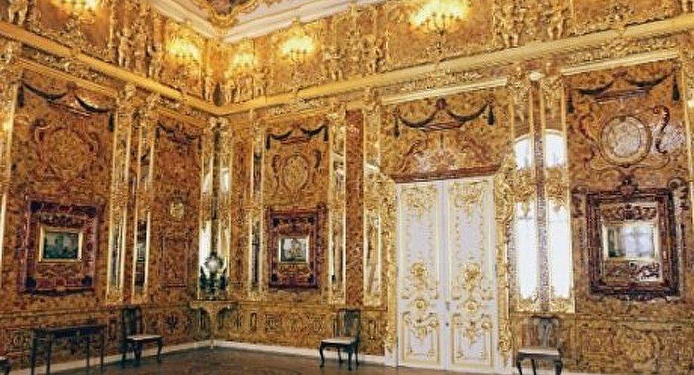 La chambre d ambre le secret bient t r v l sputnik france - La chambre d ambre photos ...
