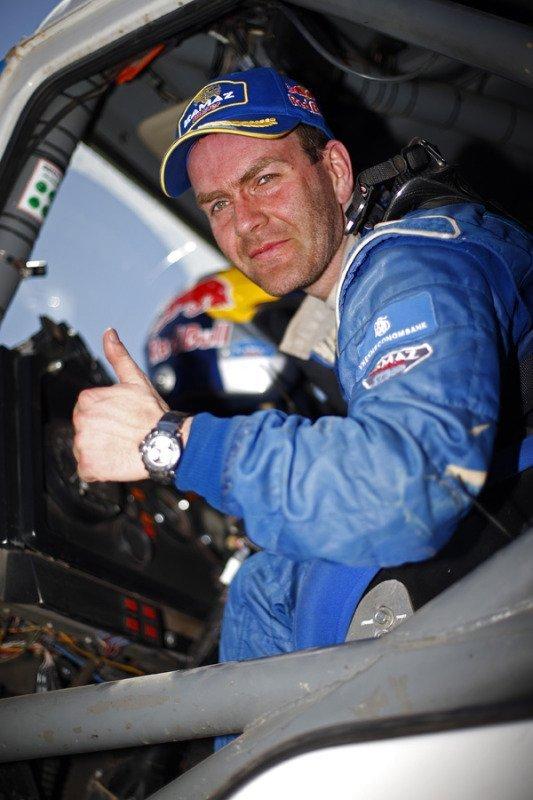 Le Russe Andrey Karginov de l'équipe KAMAZ Master s'est classé premier à la neuvième étape du rallye-marathon Dakar 2014 dans la classe des camions. Il a parcouru l'étape (422 km) en 4 heures 58 minutes et 9 secondes.