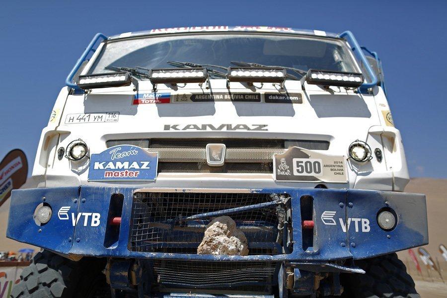Le Team KAMAZ Master remporte la 9ème étape du Dakar