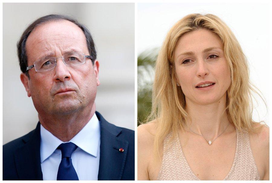 François Hollande et la comédienne Julie Gayet âgée de 41 ans