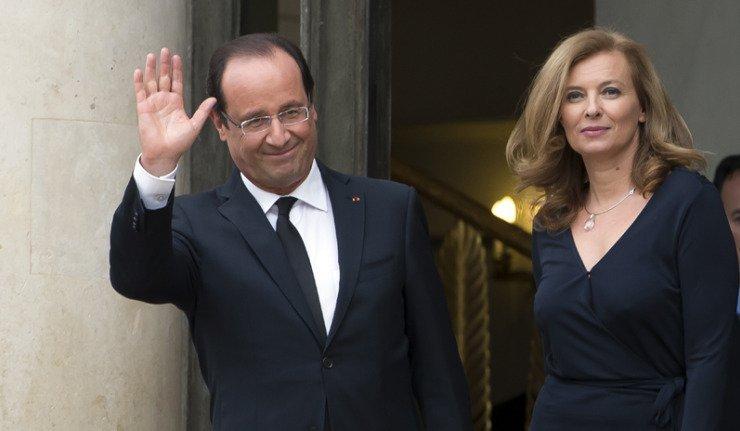 François Hollande et Valérie Trierweiller