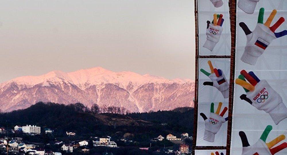 Le mur de la réconciliation olympique inauguré à Sotchi