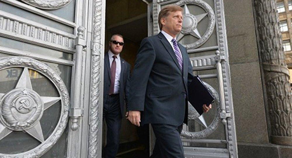 Démission de l'ambassadeur américain en Russie