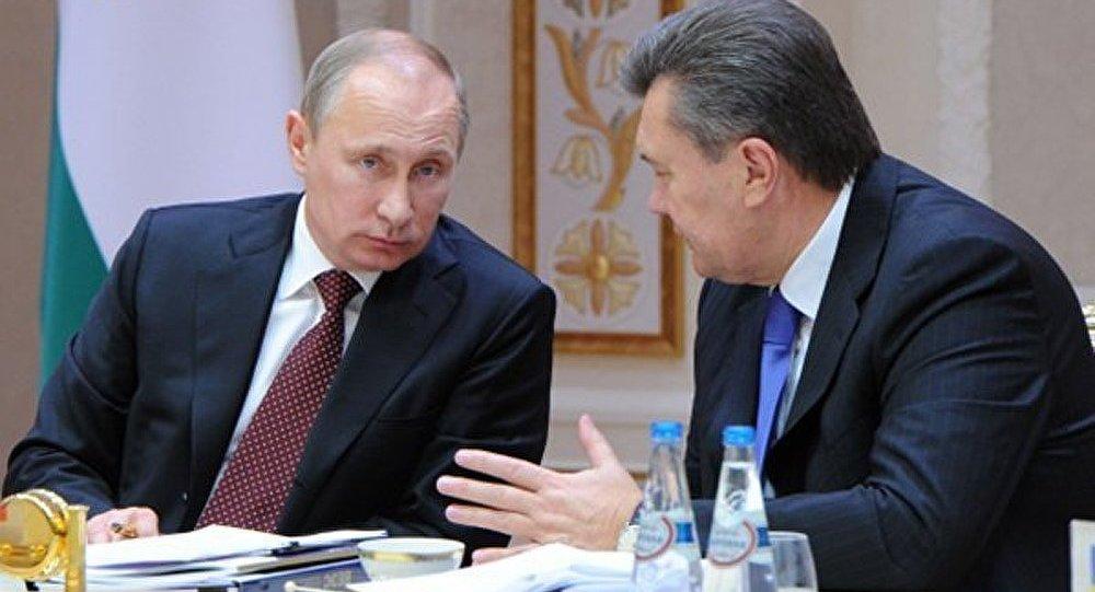 Ianoukovitch espère rencontrer Poutine le 7 février à Sotchi
