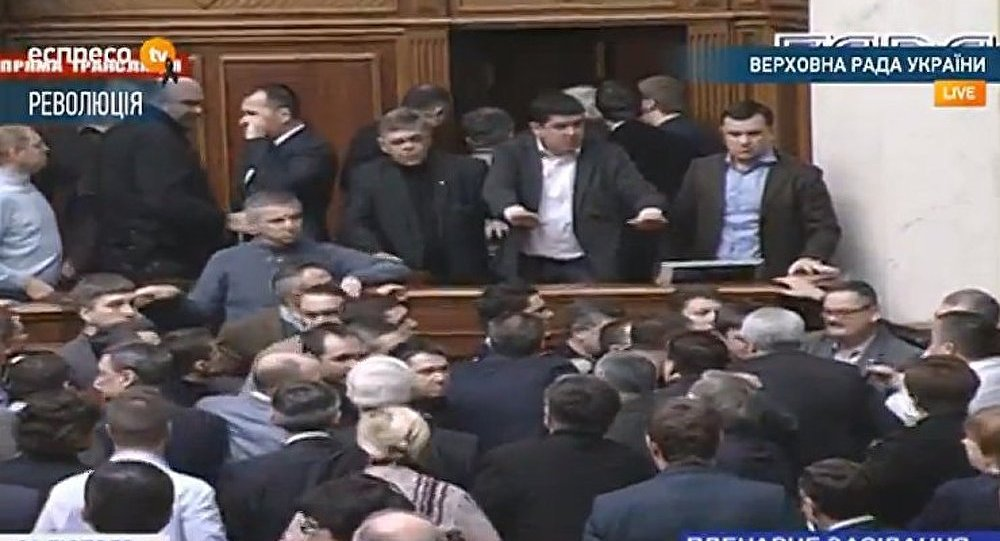 Ukraine : la Rada interdit le recours à la force contre les manifestants
