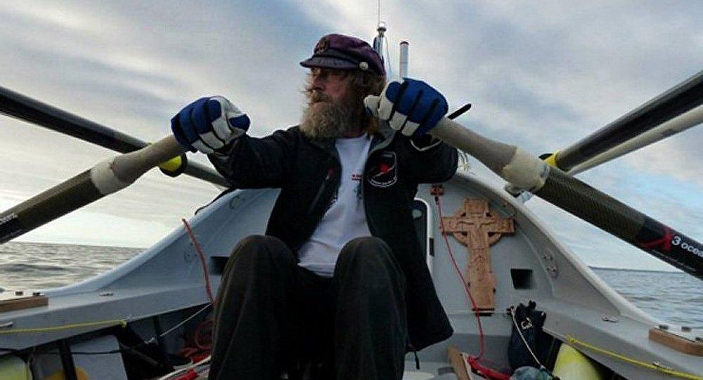 Fedor Konioukhov a parcouru 8000 km dans l'océan Pacifique
