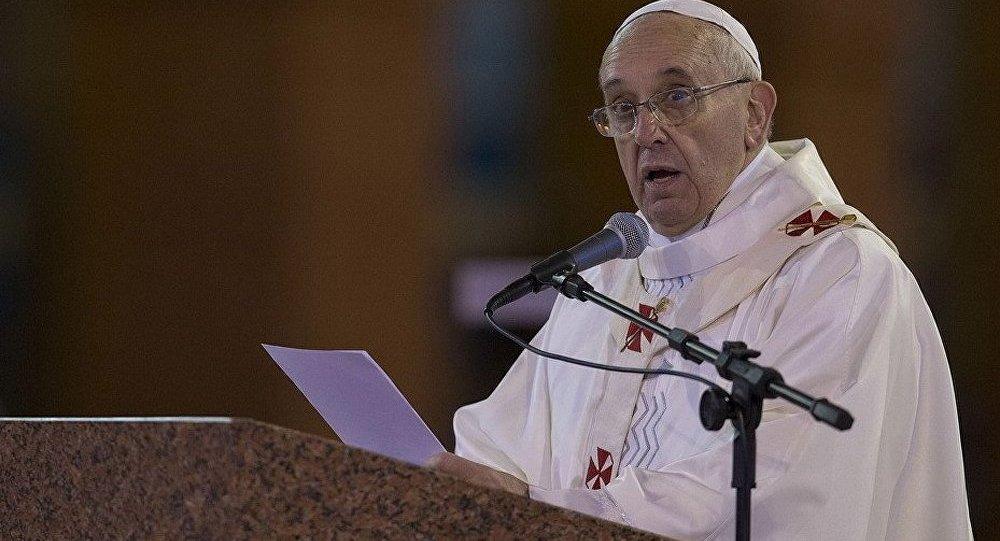 Le pape a invité à prier pour l'Ukraine