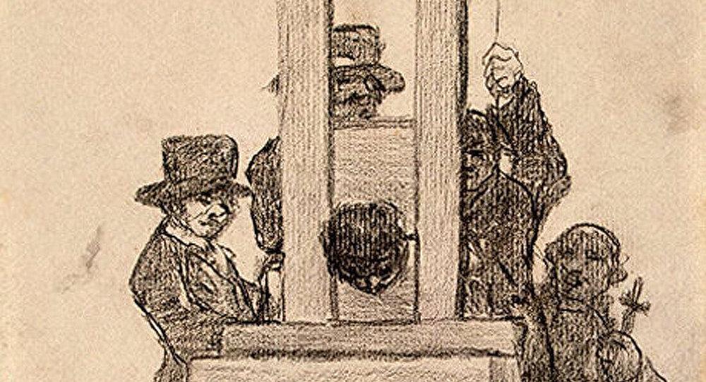 France : une guillotine vendue aux enchères