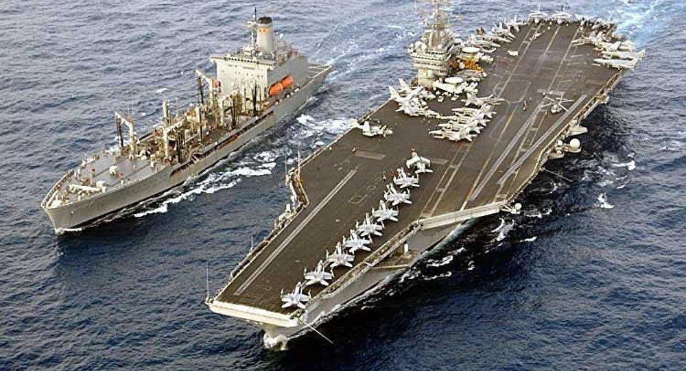 Le porte-avions US Harry Truman est de retour