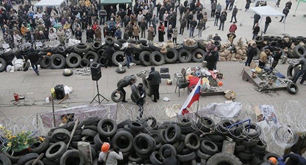 Donetsk : les manifestants ont essayé de prendre le contrôle du bâtiment du procureur