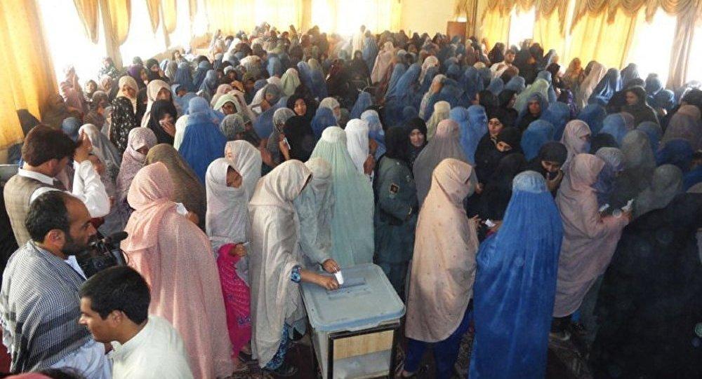 Les résultats du scrutin afghan