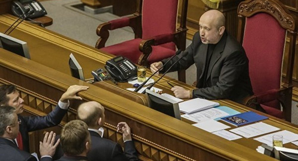 Tourtchinov limoge le chef du Service de sécurité de la région de Donetsk