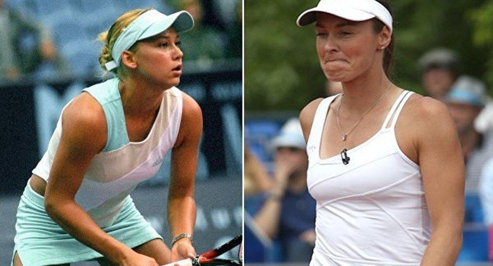 Légendes du tennis : Anna Kournikova contre Martina Hingis