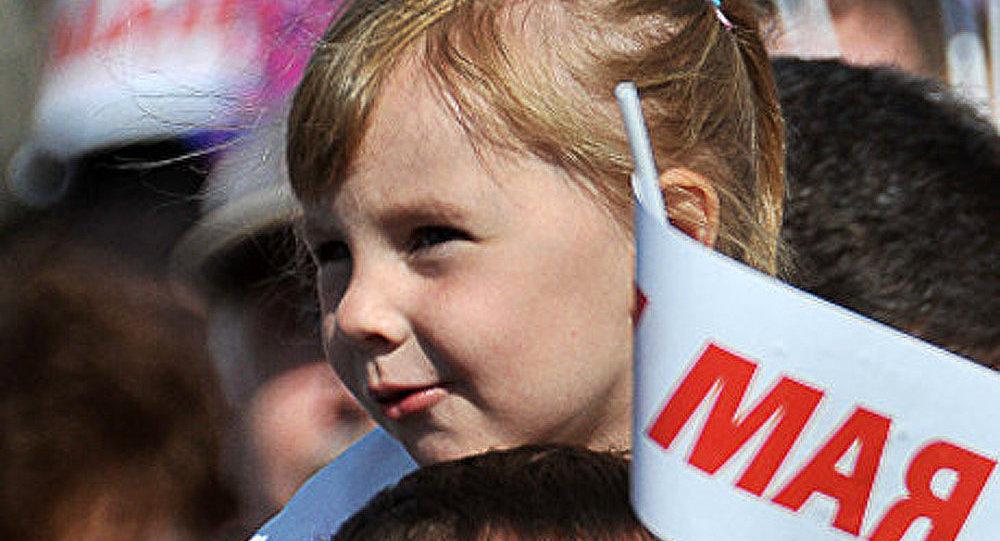 100.000 personnes à la manifestation du 1er mai à Simferopol