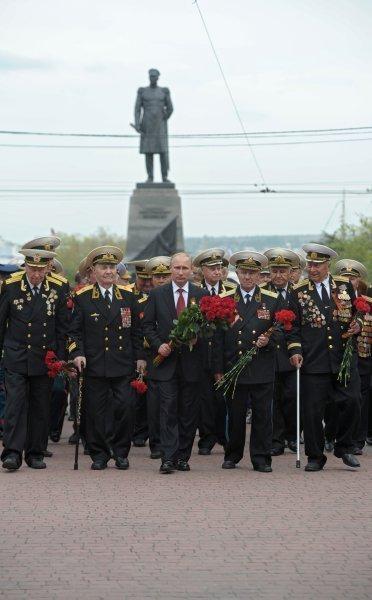 Poutine en Crimée pour les célébrations du Jour de la Victoire