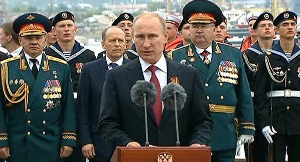 Jour de la victoire : Poutine a félicité les marins de la Flotte de la mer Noire