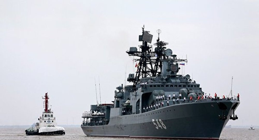 Exercices russo-chinois : les navires russes sont arrivés (Défense)