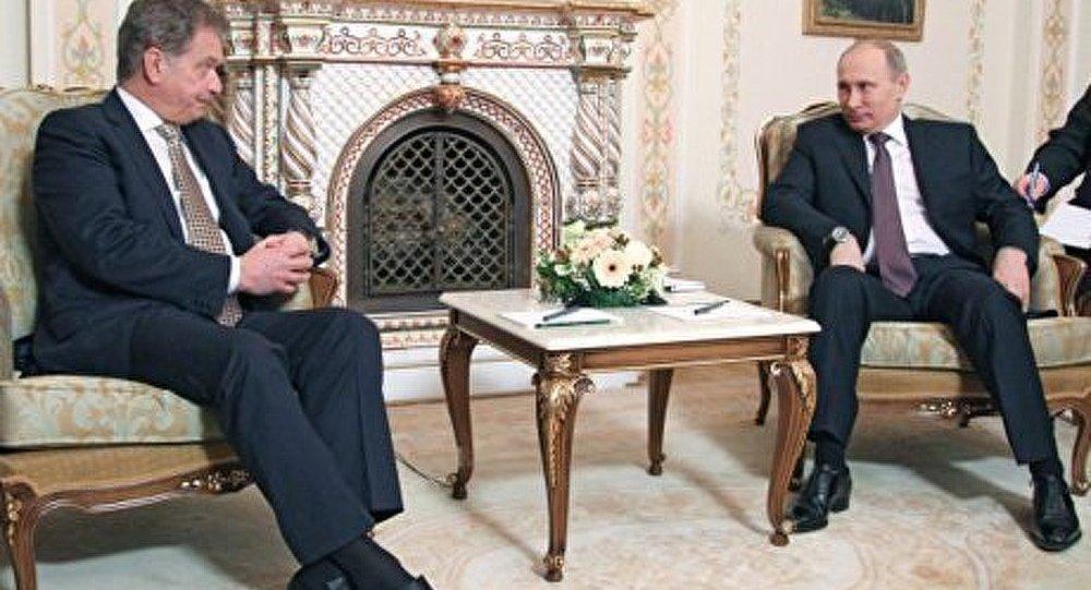 L'Ukraine au menu d'entretiens Poutine-Niinistö