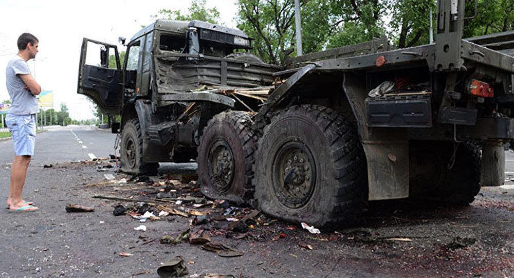 Opération militaire à Donetsk : des dizaines de tués