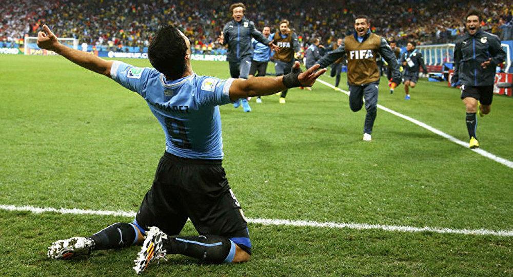 Mondial 2014 : L'Uruguay bat l'Angleterre