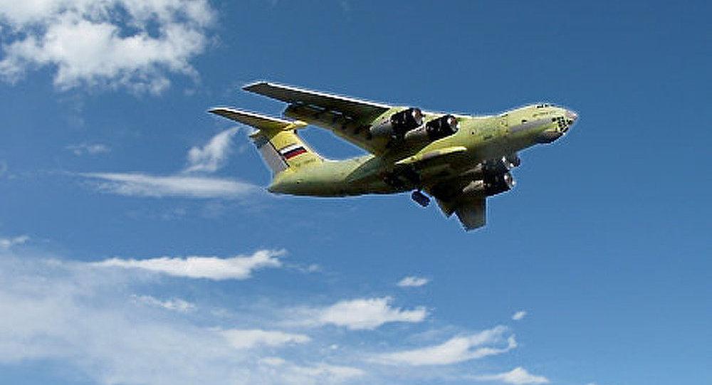 Le premier Iliouchine Il-476 livré à l'armée russe cet automne