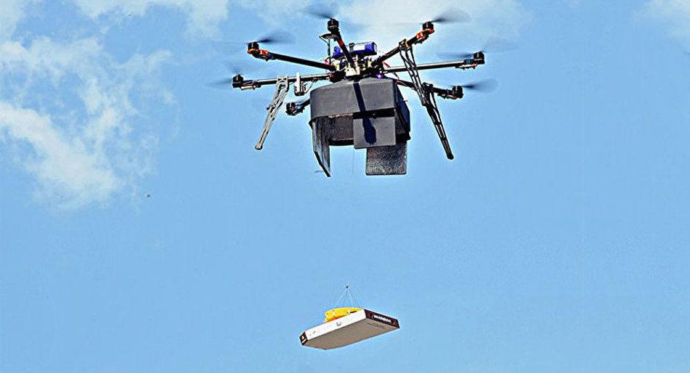 Une entreprise russe lance les livraisons de pizza par drone
