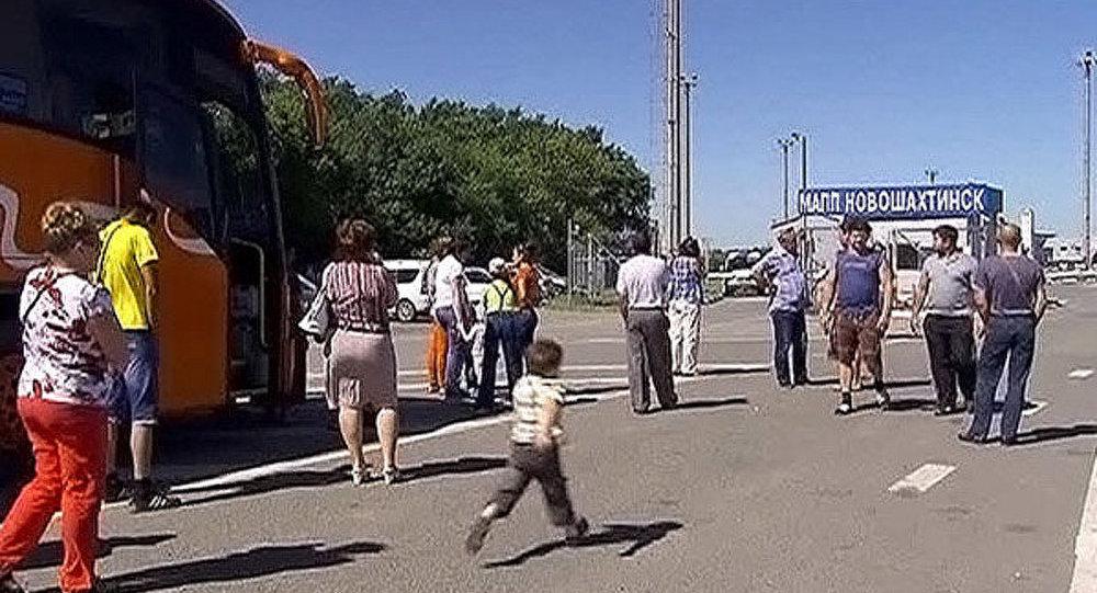 Un poste-frontière russe endommagé par des tirs venant du territoire ukrainien