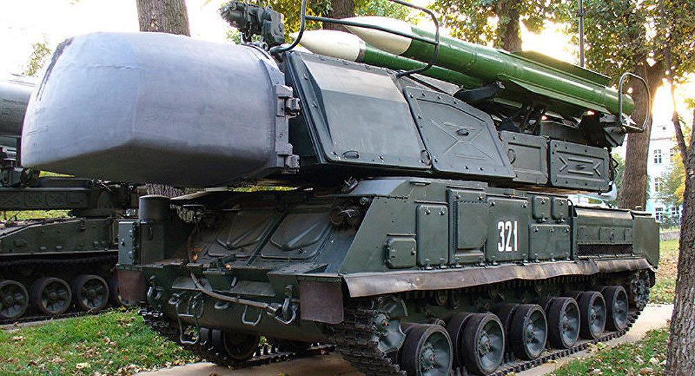 Ukraine/crash: une division de systèmes sol-air se trouve près de Donetsk