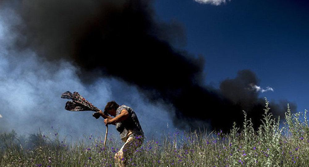 Lougansk : 15 civils devenus victimes des tirs de mortier