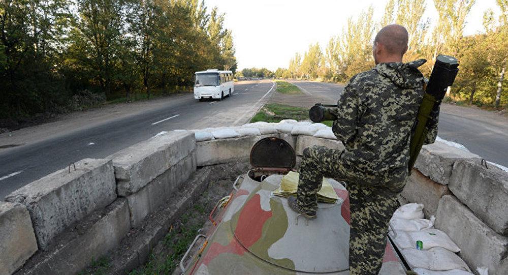 La milice fait état de destruction du matériel des forces de sécurité près de Gorlovka