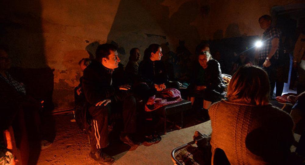 10 000 personnes se sont retrouvées sans électricité à Donetsk