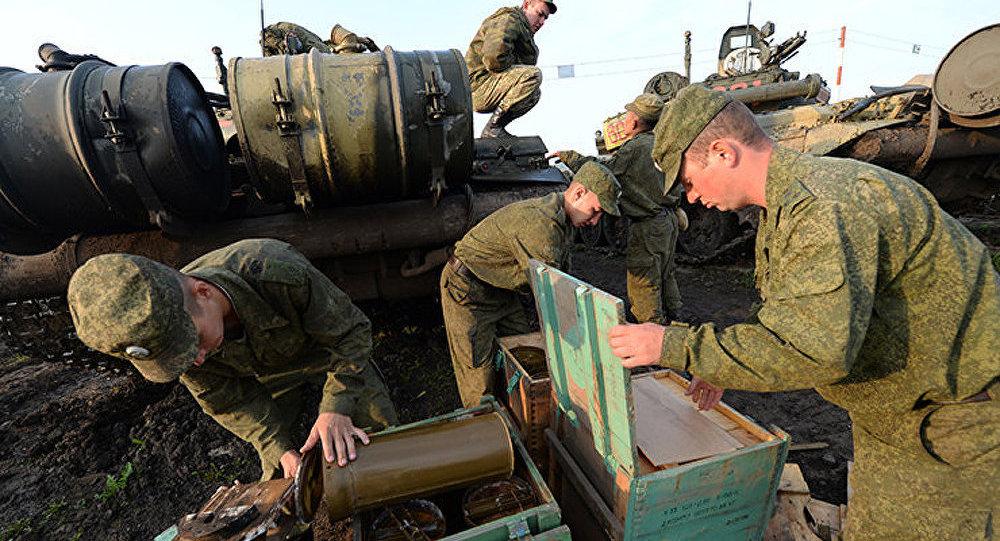 1 000 militaires russes arrivés en Chine pour participer aux exercices Mission de paix 2014