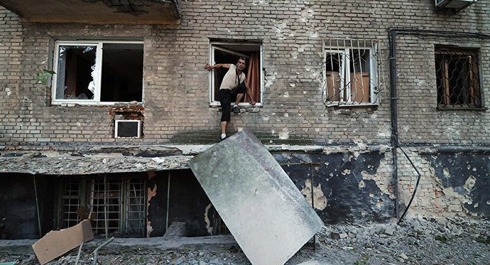 La canonnade est entendue dans le centre de Donetsk