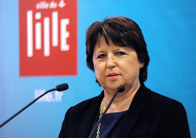 Martine Aubry. Archive photo