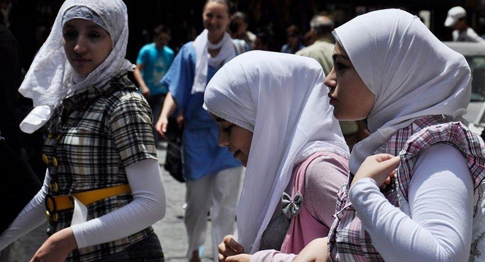 Jeunes musulmanes