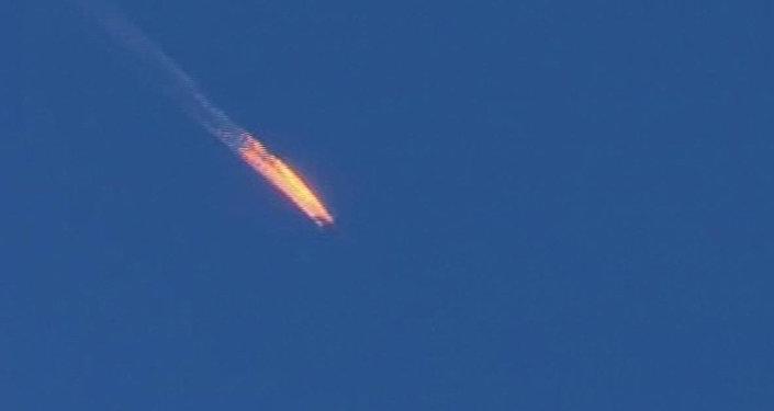 Le Su-24 russe abattu à la frontière syro-turque