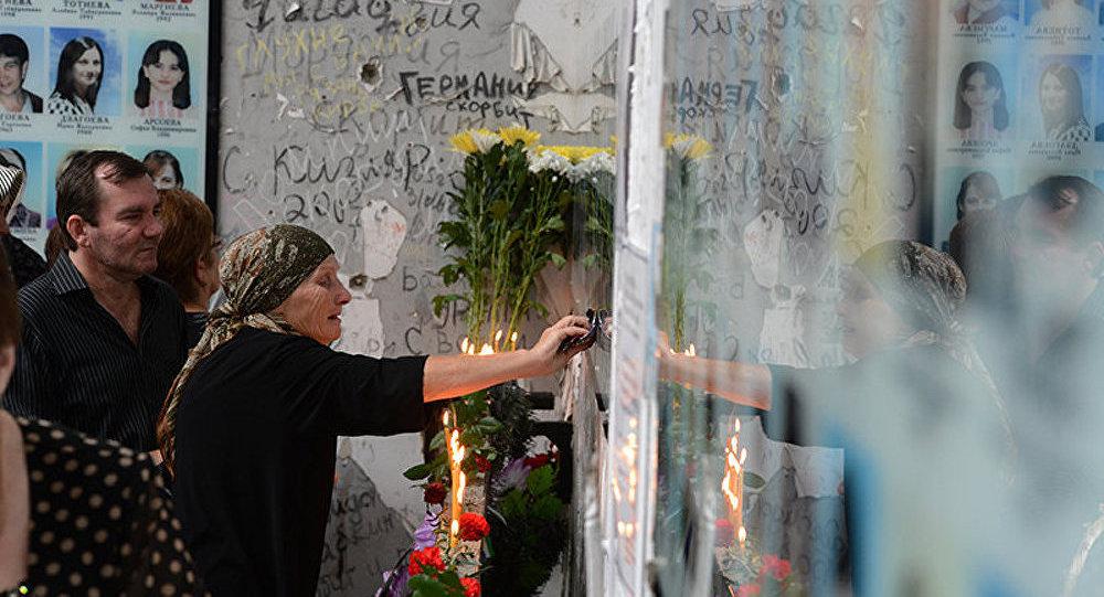 Le 10e anniversaire de la tragédie de Beslan, ce 1 septembre