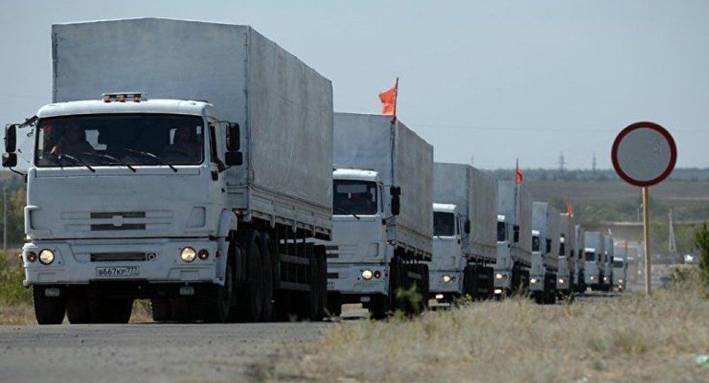 Le convoi humanitaire russe se dirigera vers Lougansk